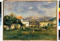 Auguste Renoir / Vue de Cagnes / post 1900 by AKG  Images