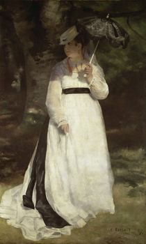 Renoir / Lise with parasol / 1867 by AKG  Images