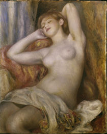 Renoir / Die Schlafende/ 1897 von AKG  Images