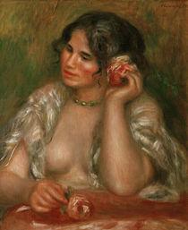 A.Renoir, Gabrielle mit Rose von AKG  Images