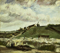 V. van Gogh, Steinbruch auf Montmartre von AKG  Images
