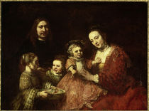 Rembrandt / Family portrait/ 1668 by AKG  Images