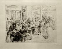 M.Liebermann, Aus dem Judenviertel in Amsterdam, Karrenhandel von AKG  Images