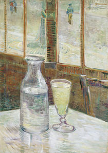 Still Life with Absinthe / V. v. Gogh / Painting, 1887 by AKG  Images