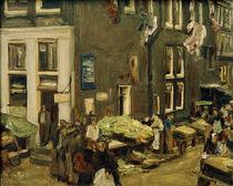 M.Liebermann, Judengasse in Amsterdam von AKG  Images