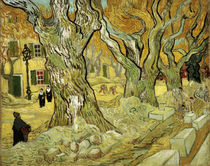 Van Gogh / Roadworks at Saint-Remy /1889 by AKG  Images