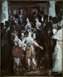Manet, Masked ball at the Opéra by AKG  Images