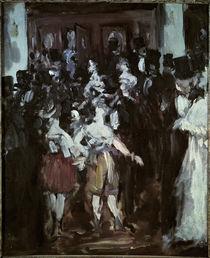 E.Manet, Maskenball in der Opéra von AKG  Images