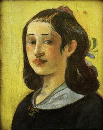 Gauguin / Portrait of Aline Gauguin/ 1890 by AKG  Images