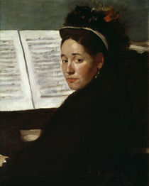Degas / Mademoiselle Dihau at the Piano by AKG  Images