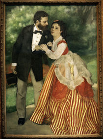 A.Renoir, Das Ehepaar Sisley von AKG  Images