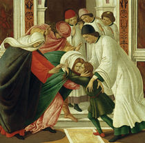 S.Botticelli, Leben / Taten d. hl. Zenobius by AKG  Images