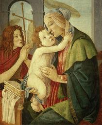 S.Botticelli, Maria mit Kind u. Johannes von AKG  Images