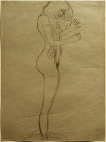 G.Klimt, Studie für die Poesie by AKG  Images