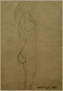 G.Klimt, Stehender Frauenakt nach rechts von AKG  Images