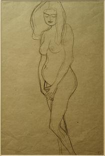 G.Klimt, Stehende nackte Schwangere von AKG  Images