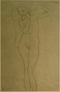 G.Klimt, Stehender Frauenakt (Studie) by AKG  Images