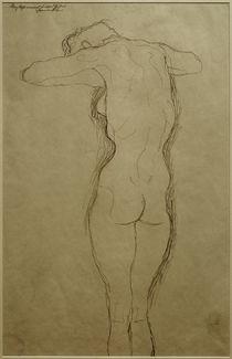 G.Klimt, Stehender Rückenakt (Studie) von AKG  Images