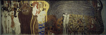 G.Klimt, Beethoven-Fries, feindl. Gewalten von AKG  Images