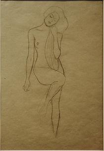 G.Klimt, Stehender Frauenakt von AKG  Images