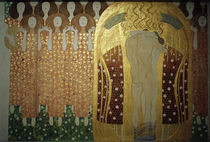 Beethoven Frieze / Detail /  Gustav Klimt / Detail by AKG  Images