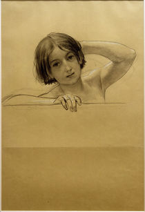 G.Klimt, Porträt eines Kindes by AKG  Images