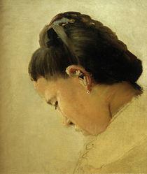 G.Seurat, Kopf eines jungen Mädchens von AKG  Images