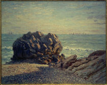 A.Sisley, Storr's Rock, Lady's Cove, am Abend by AKG  Images