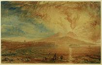 W.Turner, Bucht von Nneapel (Der Zorn des Vesuv) by AKG  Images