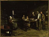 Max Liebermann, Das Tischgebet / Gemälde, 1885/86 by AKG  Images