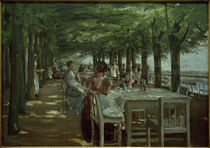 M.Liebermann, Terrasse im Restaurant Jacob in Nienstedten by AKG  Images