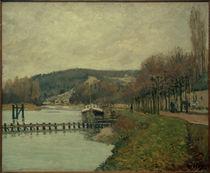A.Sisley, Die Hänge von Bougival von AKG  Images