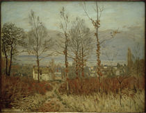 A.Sisley, Ansicht von Louveciennes im Herbst by AKG  Images
