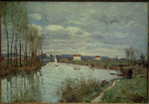 A.Sisley, Die Seine bei Argenteuil by AKG  Images