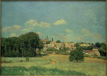 A.Sisley, Marly-le-Roi im Sonnenschein by AKG  Images