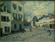 A.Sisley, Straße in Marly by AKG  Images