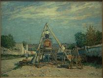A.Sisley, Die Bandsäge (Die Holzsäger) by AKG  Images