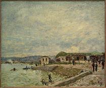 A.Sisley, Die Seine bei Tagesanbruch von AKG  Images