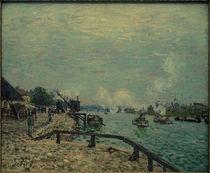A.Sisley, Die Seine bei Grenelle von AKG  Images