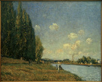 A.Sisley, La Seine à Billancourt by AKG  Images