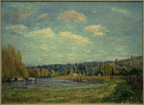 A.Sisley, La Seine bei Saint-Cloud by AKG  Images
