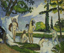 Cezanne / Bathers / 1874/75 by AKG  Images