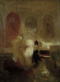 W.Turner, Soiree in East Cowes Castle von AKG  Images