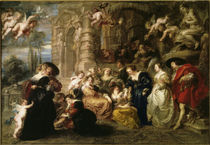 Rubens / The Garden of Love / 1632–34 by AKG  Images
