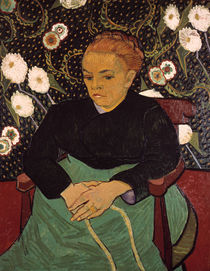 Van Gogh / La Berceuse (Augustine Roulin) von AKG  Images