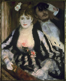 Renoir / La loge / 1874 by AKG  Images