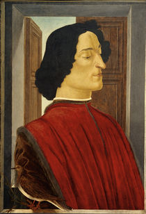 Giuliano de' Medici / Gem. v. Botticelli by AKG  Images