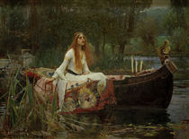 Tennyson, The Lady of Shalott / Waterhouse von AKG  Images