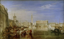 Canaletto beim Malen / Gem. v. W.Turner by AKG  Images