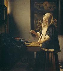 Vermeer, Die Perlenwägerin von AKG  Images